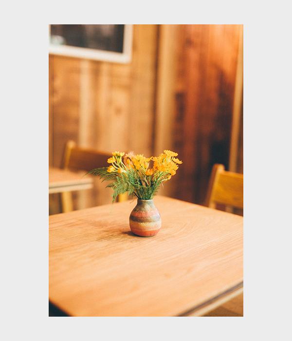 パドラーズコーヒーの花