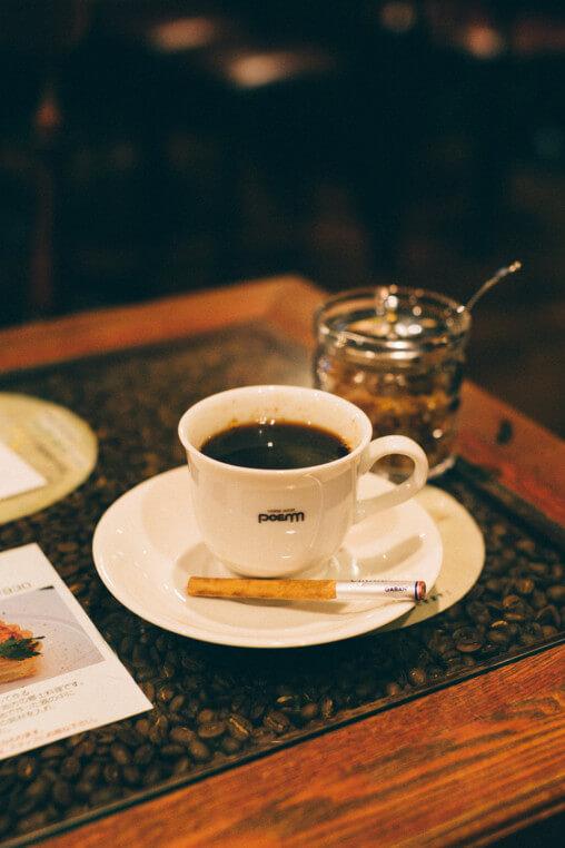 シナモンコーヒー・喫茶店ぽえむ